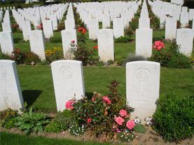 Cementerio Británico Bayeux