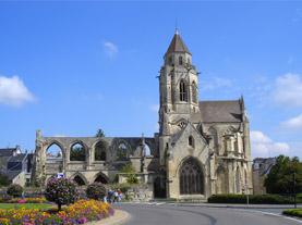 Iglesia de St-Pierre, Caen