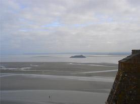 Vistas desde Mont Sant Michel