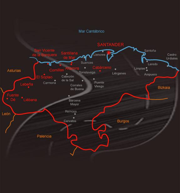 mapa fronteras europa