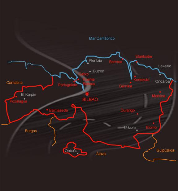 mapa provincia salamanca